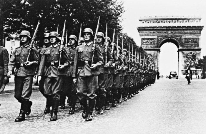 Война для Германии начиналась очень бодро. |Фото: talkypic.com.