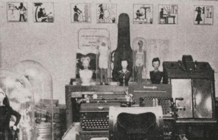 Свидетельства цивилизации образца 1940 года.
