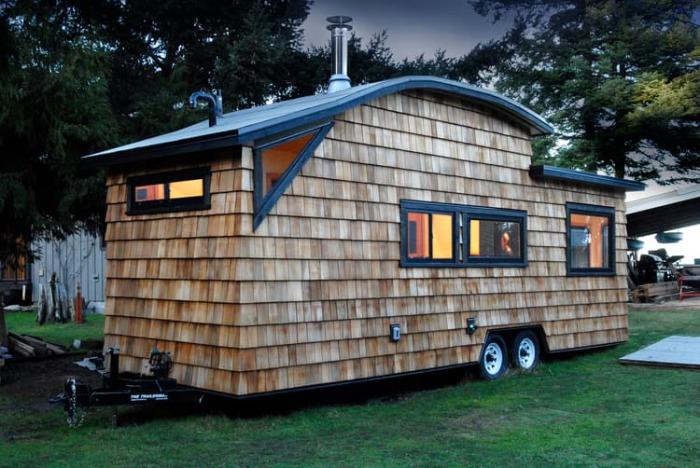 Комфортабельным дом на колёсах.