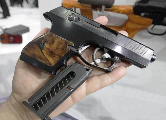 Самый тонкий пистолет. |Фото: gunm.ru.