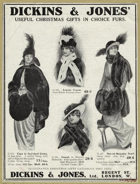 Модная меховая одежда Dicking&Jones.