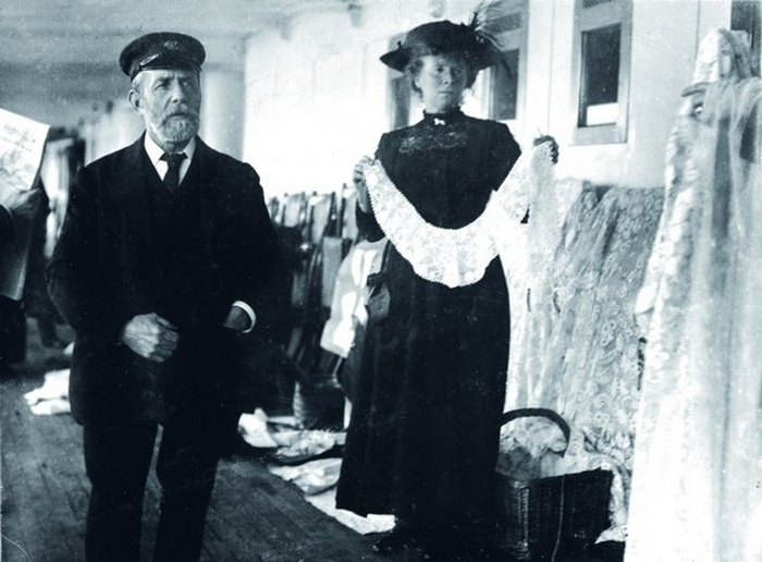 Поставщик ирландского кружева на борту Титаника.