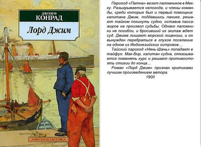 Лорд Джим. Джозеф Конрад.