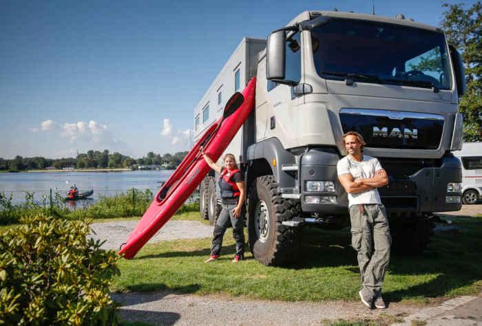Action Mobil's Global XRS 7200 - полноценный дом на колёсах.