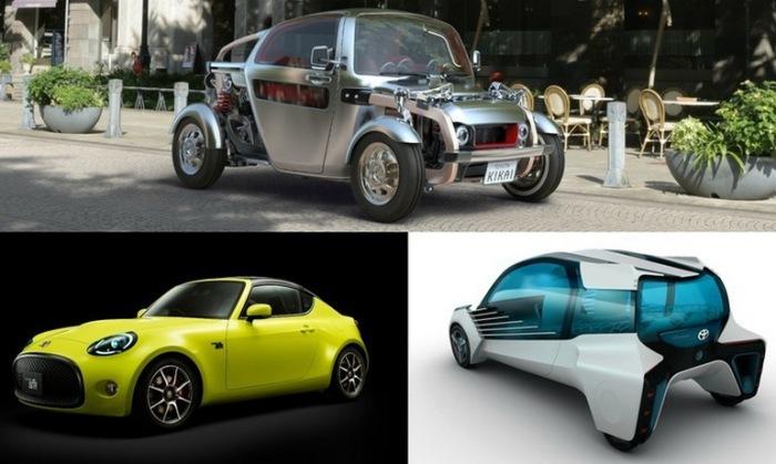Toyota представила сразу с три концепт.