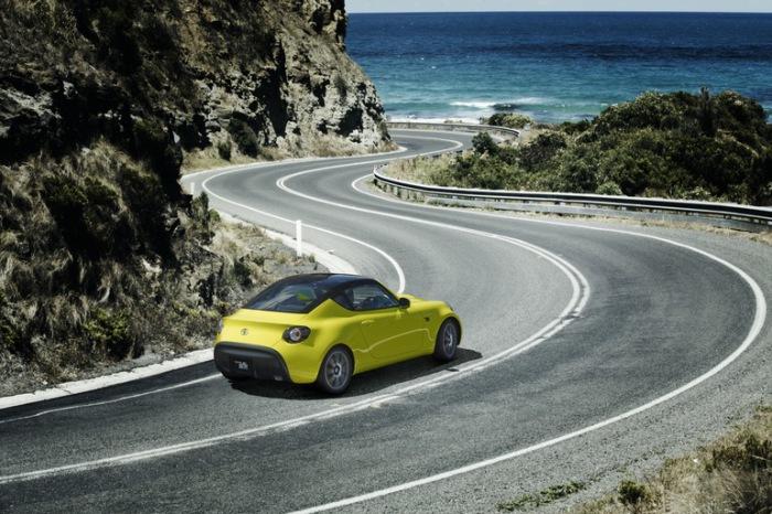 Спортивный S-FR станет одним из самых маленьких авто в своем классе.