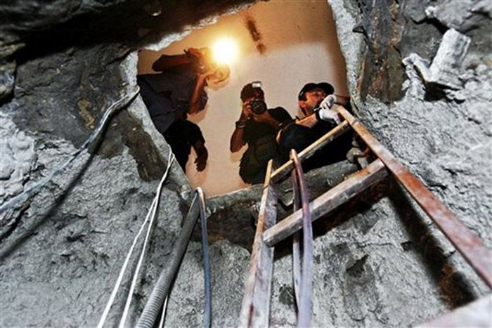 Туннель золотоискателей.