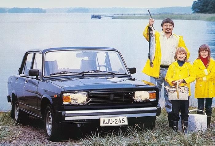Lada 2105 - автомобиль №1 в Финляндии.