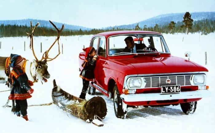 Москвич-элита - автомобиль №6 в Финляндии.