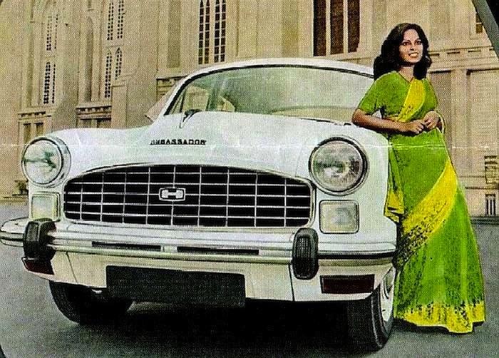 Hindustan Ambassador автомобиль №1 в Индии.