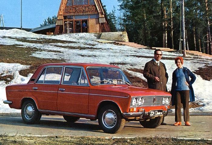 Lada 2103 - автомобиль №1 в СССР.