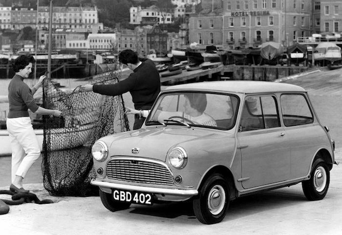 Austin Mini - автомобиль №1 в Англии.
