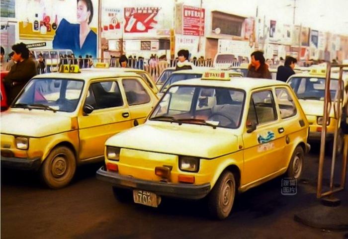 Fiat 126p - автомобиль №1 в Китае.