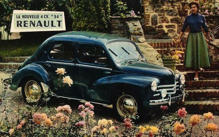 Renault 4CV - автомобиль №1 во Франции.
