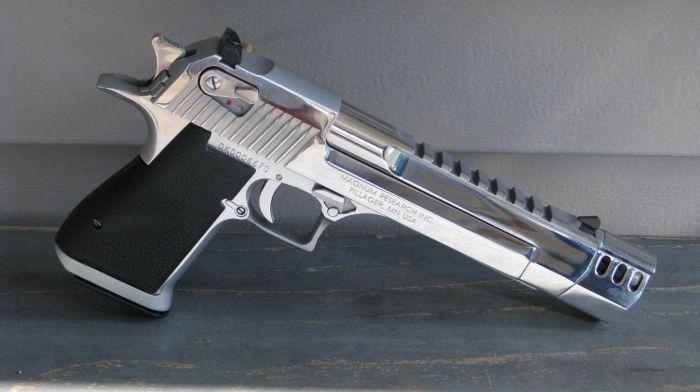 Израильский пистолет. ¦Фото: sketchfab.com.