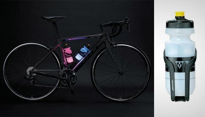 Велосипедная фляга с LED-подсветкой.
