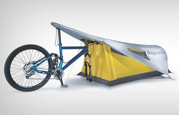 Палатка, которая всегда с собой.