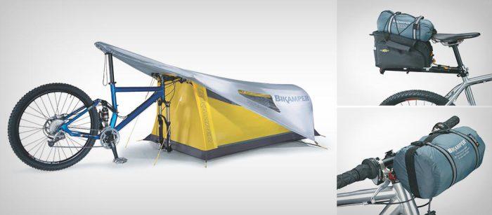 Самая компактная в мире палатка.
