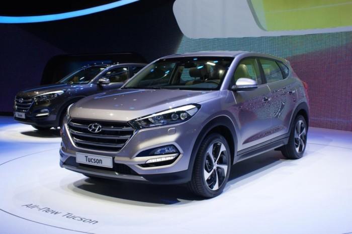 Южнокорейский  Hyundai Tucson все еще один из лучших.