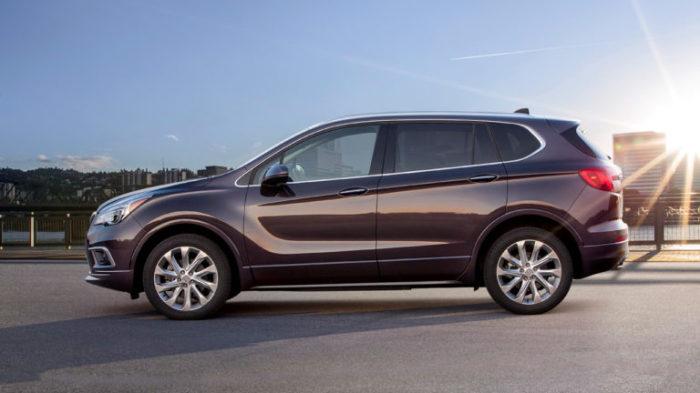 Китайский Buick Envision специально для США.