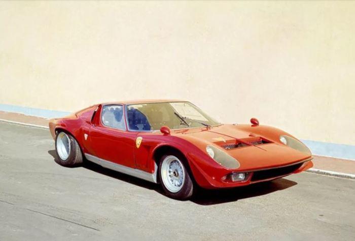 Lamborghini Miura Jota был запрещен основателем компании, как неугодная машина.