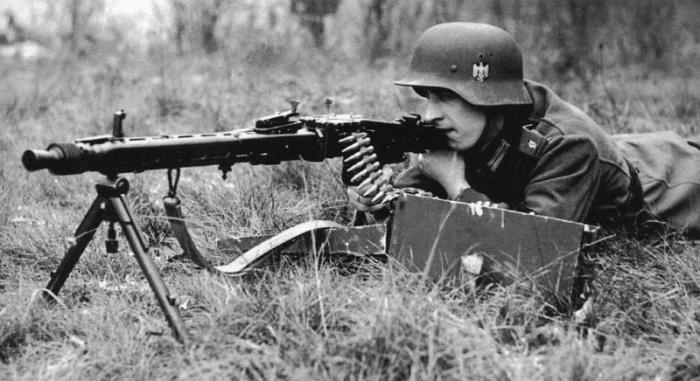 Пулемет пришелся по вкусу вермахту.