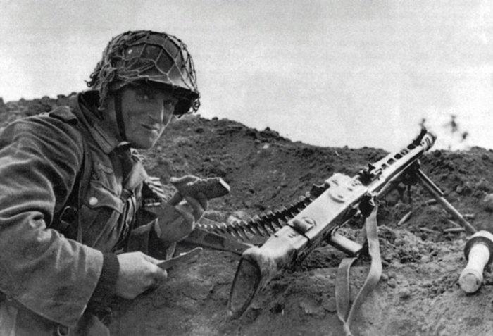 Этот пулемет стал лучшим в войну.