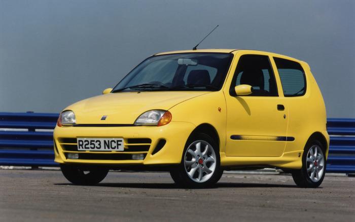 Отличное авто Fiat Seicento почти не изменилось.