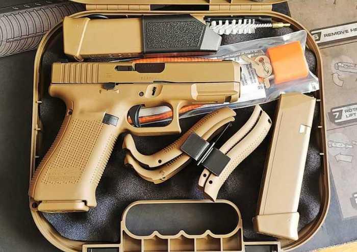 Пистолет пошел на гражданский рынок.