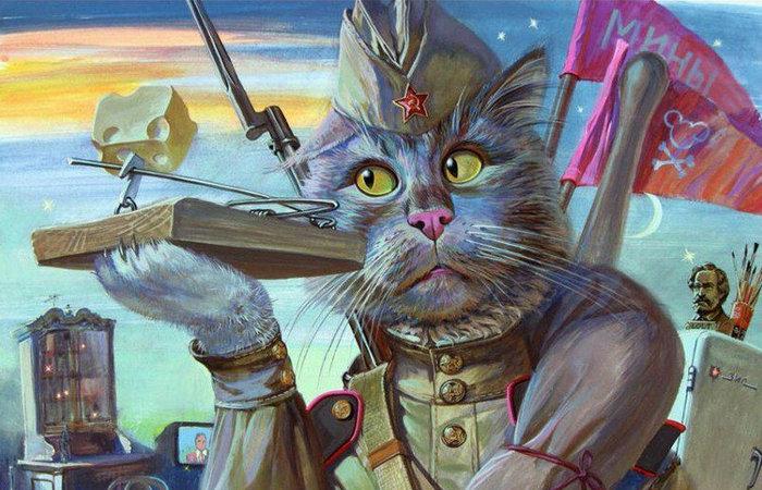Было решено завезти в Ленинград котов. |Фото: ok.ru.