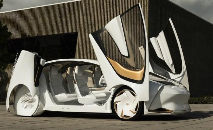 Концептуальный автомобиль Toyota Concept-i.