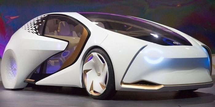 Японский концепт Toyota во всей красе.