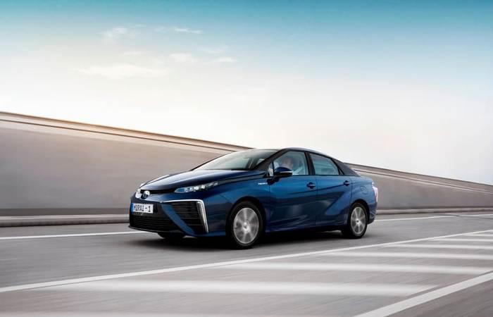 Toyota Mirai: никаких вредных выбросов.