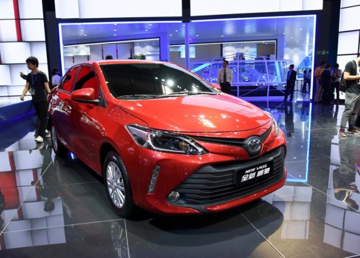 Toyota Vios - бюджетная роскошь.