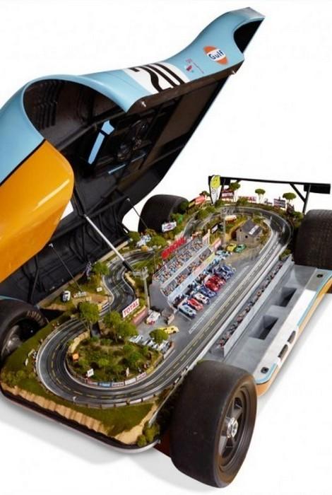 Porsche 917 Le Mans Raceway.