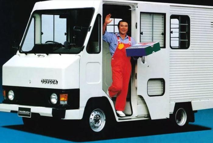 Toyota Quick Delivery - мечта курьера.