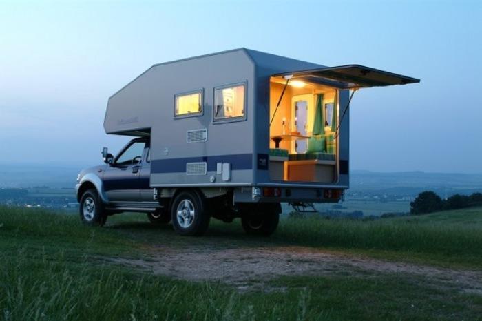 Жилой модуль Bimobil из Германии.