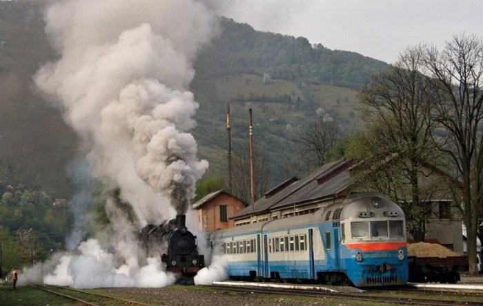 Поезда РЖД.