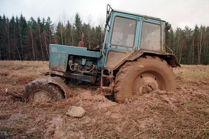 Задние колеса повышают проходимость. |Фото: ex-press.by.