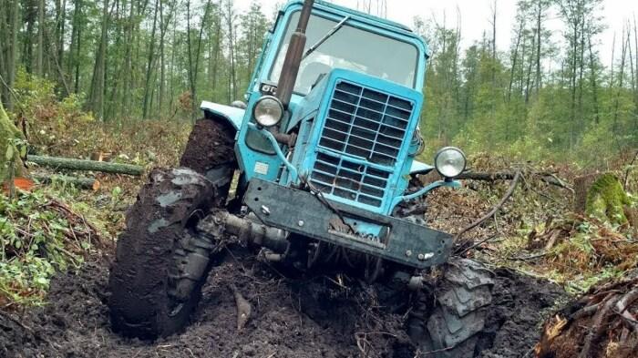 Трактор - почти вездеход. ¦Фото: ya.ru.