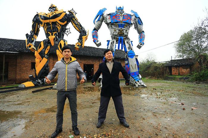 Отец, сын и трансформеры.