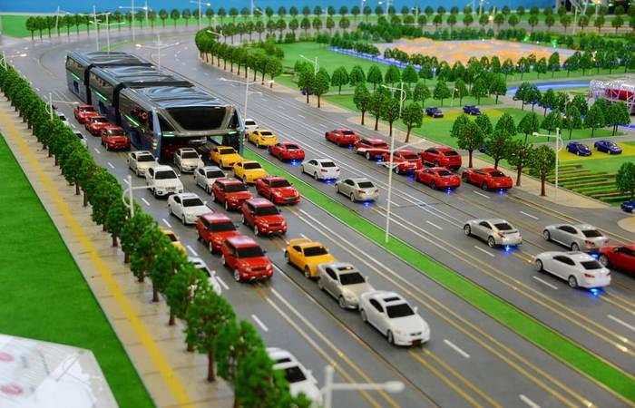 Transit Explore Bus - общественный транспорт будущего.