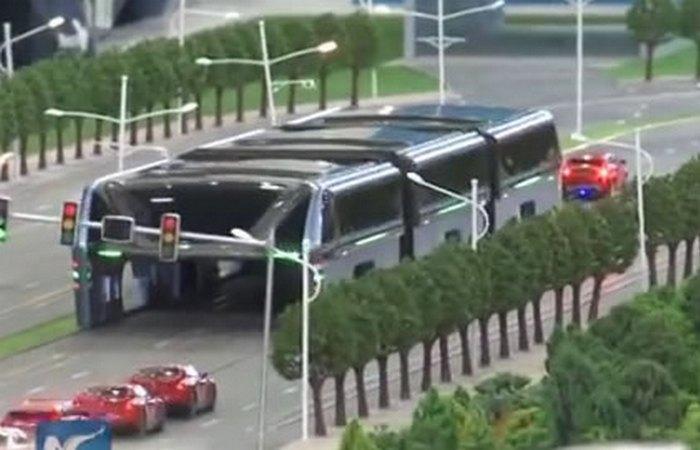 Elevated Transit будет двигаться со скоростью в 60 км/ч.