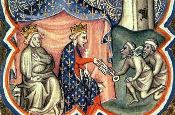 Королевские регалии короля Иоанна.
