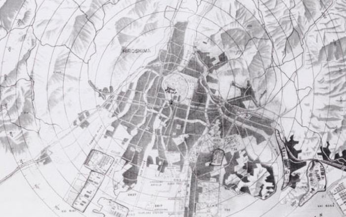 Карты ядерной бомбардировки.