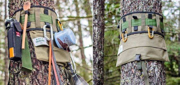 Tree Hugger - это своеобразный пояс-вешалка для всевозможного снаряжения.