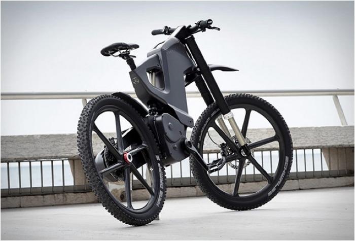 Trefecta DRT - гибрид велосипеда и электробайка.