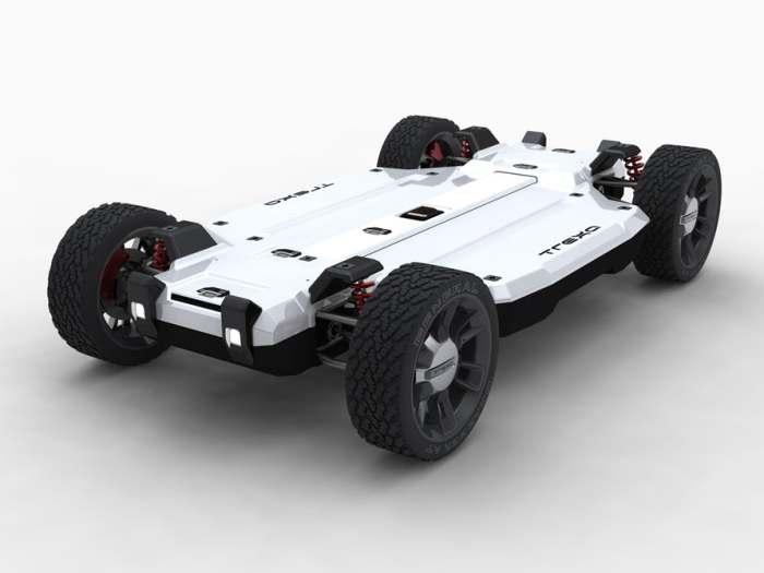 Платформа для будущих кустарных авто.