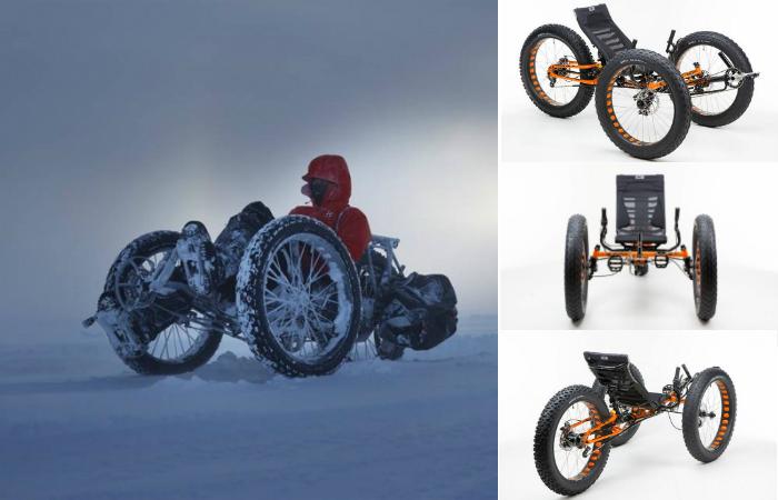 Трициклет повышенной проходимости ICE Full Fat Trik.
