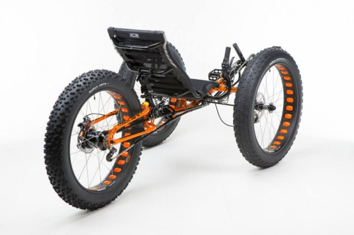 ICE Full Fat Trike - самый проходимый велосипед.